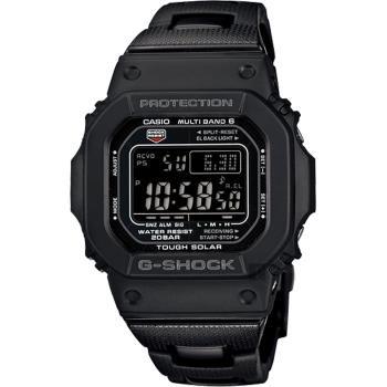 CASIO 卡西歐 G-SHOCK 太陽能電波手錶 GW-M5610BC-1