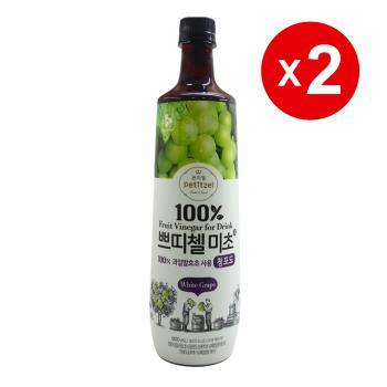 韓國CJ青葡萄果醋(900ml)-2罐組