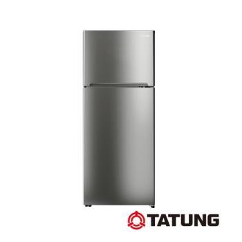 TATUNG大同480公升一級能效變頻雙門冰箱(銀灰色)TR-B480VD