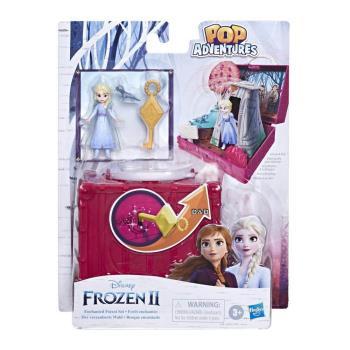 Disney迪士尼 Frozen 冰雪奇緣2 基本場景遊戲組 - 艾莎與魔法森林
