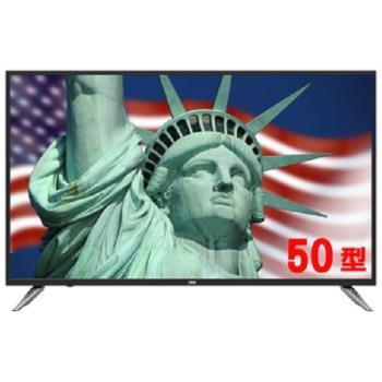 美國 AOC 50吋 LE50U7570  4K UHD聯網液晶顯示器+視訊盒