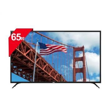 美國 AOC 65吋 65U6080 4K 淨藍光顯示器+視訊盒