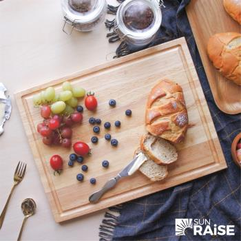 SUN RAiSE 台灣製原木砧板 麵包板 木托盤 餐盤
