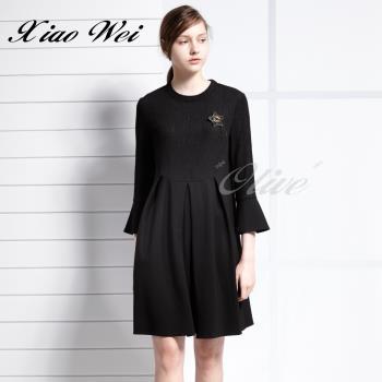 CHENG DA 秋冬專櫃精品時尚流行長袖洋裝 NO.559015