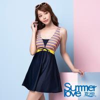 夏之戀SUMMERLOVE 大女連身裙泳衣S20711