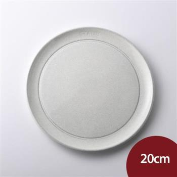 Staub 陶瓷圓餐盤 20cm 松露白