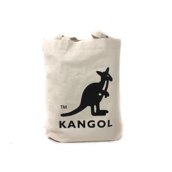 KANGOL 側背包 帆布包 米白色 6025301601 noA65