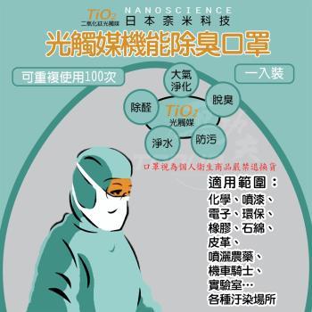 【防疫新生活】光觸媒機能口罩2入組