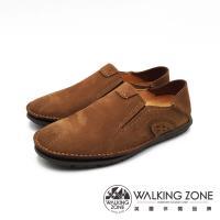 WALKING ZONE 可踩腳休閒鞋 開車鞋 男鞋 -淺棕(另有深咖)