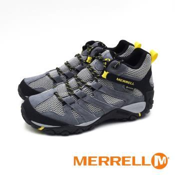 MERRELL (男) ALVERSTONE MID GORE-TEX高筒防水健走登山鞋 - 灰