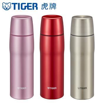 TIGER虎牌 480cc超輕量霧面杯蓋不鏽鋼保溫瓶 日本製(MJD-A048)