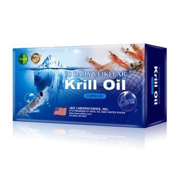 美國Natural D深海紅寶磷蝦油健康(6盒組)-獨