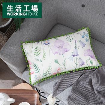 【生活工場】緋色春絢抱枕30x50