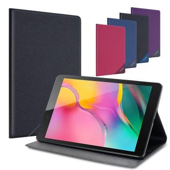 CITYBOSS for 三星 Samsung Galaxy Tab A 8.0吋 2019 T295 運動雙搭隱扣皮套