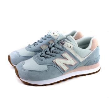 NEW BALANCE 574系列 運動鞋 復古鞋 粉藍色 女鞋 窄楦 WL574SUO-B no780
