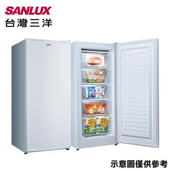 SANLUX台灣三洋150公升直立式冷凍櫃 SCR-150A-庫(G)
