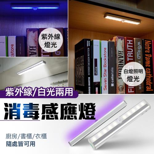 紫外線照明兩用感應燈/