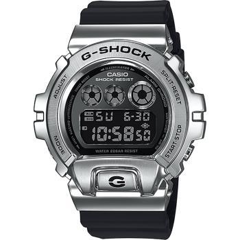 CASIO卡西歐G-SHOCKDW-690025周年金屬手錶GM-6900-1