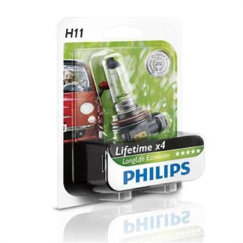 PHILIPS 飛利浦 四倍壽命環保車燈(H11)