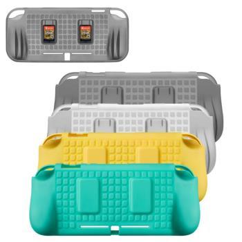 Nintendo任天堂 Switch Lite專用 卡匣收納式TPU柔軟主機保護套