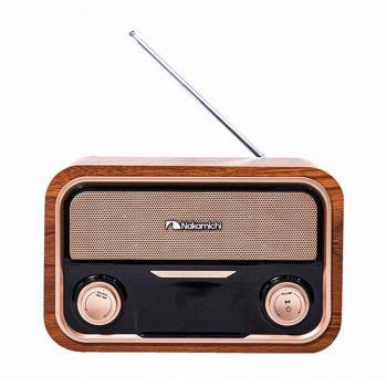 Nakamichi | SOUNDBOX LITE 古典柚木藍牙音響喇叭