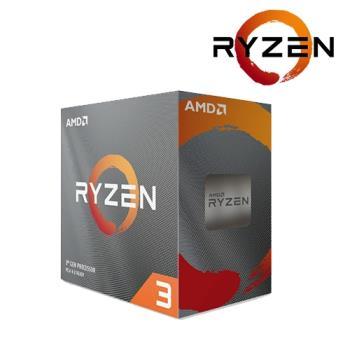 【AMD】Ryzen 3 R3-3100 中央處理器