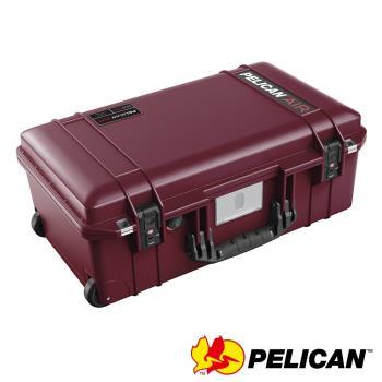 美國 PELICAN 1535TRVL Air 輪座拉桿超輕氣密箱-(紅)