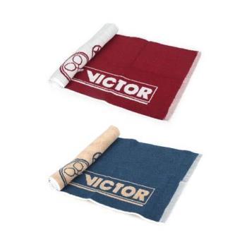 VICTOR 運動毛巾-一只入 海邊 浴巾 游泳 戲水 慢跑 路跑 勝利