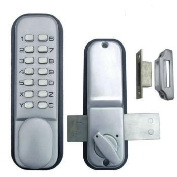 機械密碼鎖 SW25A 鋅合金 密碼鎖 大門鎖 機械鎖 按鍵密碼 門鎖 防盜鎖 無鑰匙防水防潮門鎖 可更換密碼