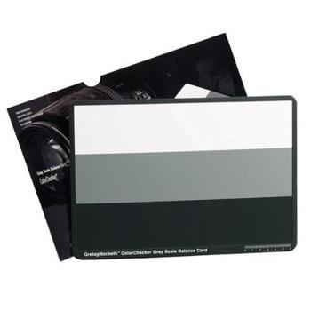 美國X-Rite ColorChecker灰階卡Gray Scale Card 18%灰卡校正白平衡卡M50103(標準24-path白黑18灰色卡)