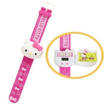 HELLO KITTY兒童錶兒童手錶電子錶卡通錶 012347 【卡通小物】