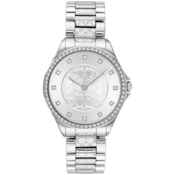 COACH 立體浮雕閃耀晶鑽腕錶/31mm/CO14503503