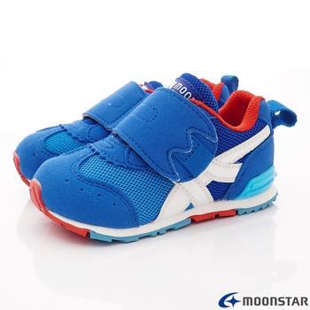 MOONSTAR-日本月星頂級童鞋 HI系列機能運動款 MSB1505藍