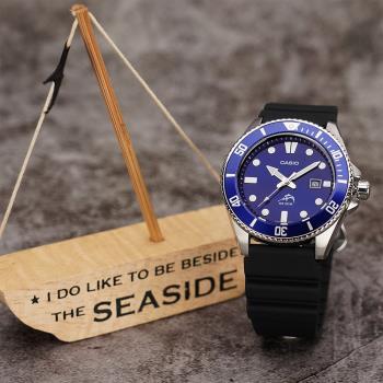 CASIO 槍魚 200米潛水錶-藍水鬼 MDV-106B-2A