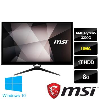 msi微星 PRO22X AM-005TW 21.5吋液晶電腦(AMD Ryzen5 3200G/8G/1T HDD/WIN10)