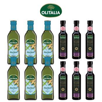 奧利塔玄米油500毫升*6罐、奧利塔摩典那巴薩米克醋250毫升*6罐