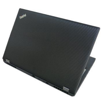 【Ezstick】Lenovo ThinkPad P53 黑色立體紋機身貼(含上蓋貼、鍵盤週圍貼) DIY包膜