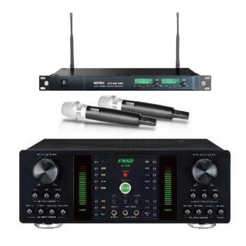 卡拉OK套組 FNSD A-250 擴大機+MIPRO ACT-869 PRO 無線麥克風