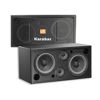 KARABAR KB-2348DP/PRO黑色 開放空間專用喇叭/卡拉OK 懸吊式喇叭