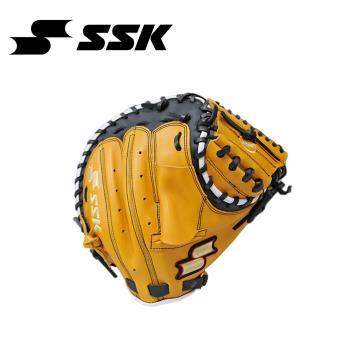 SSK 捕手手套 原皮/黑 DWG49M-4590