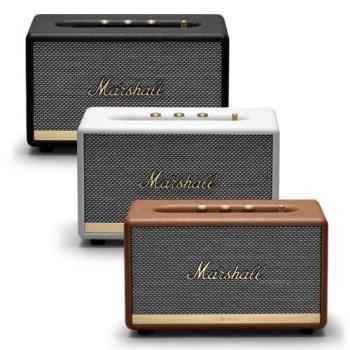 【Marshall】Acton II 立體聲藍牙喇叭 黑色