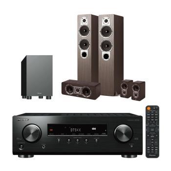 Pioneer 先鋒 VSX-326+Jamo S426 木色+S-13W(最新5.1環迴立體音響組合/5.1聲道 家庭劇院組)