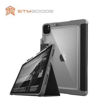 澳洲【STM】Rugged Case Plus 系列iPad Pro 12.9吋 (第四代) 軍規防摔保護殼 (黑)