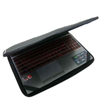 【Ezstick】MSI ALPHA 15 A3DD 15吋S 通用NB保護專案 三合一超值電腦包組 (避震包)