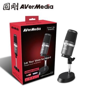 【圓剛】 AVerMedia圓剛 AM310 黑鳩 高音質USB麥克風
