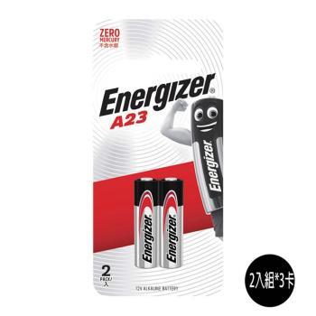 Energizer 勁量 A23 遙控器電池12V 6入