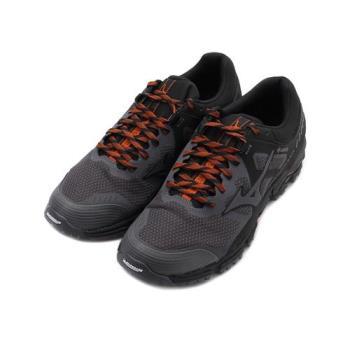 MIZUNO WAVE DAICHI 5 GORE-TEX 越野慢跑鞋 黑橘 J1GJ205636 男鞋
