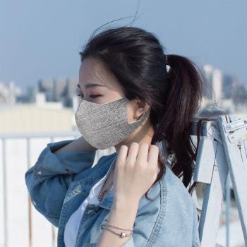 勤逸軒-Prodigy超透氣MIT防曬防塵防護立體口罩-牛仔丹寧黑色3入