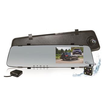 CARSCAM行車王 GS9120 GPS測速前後雙鏡頭行車記錄器(贈16G記憶卡)