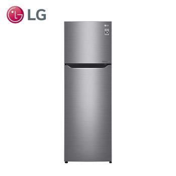 LG樂金Smart 一級能效 253L直驅變頻上下門冰箱(精緻銀)GN-L307SV(送基本安裝+舊機回收)